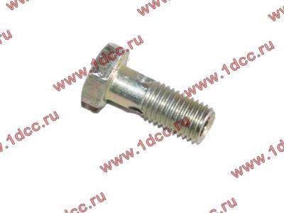 Болт пустотелый M8х1,0 (штуцер топливный) H HOWO (ХОВО) 90003962621 фото 1 Иркутск