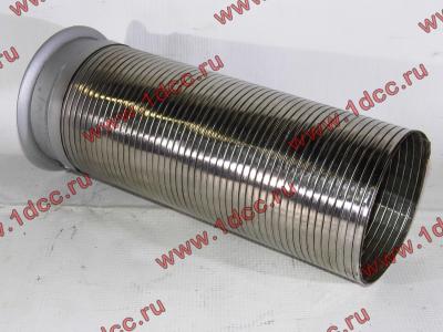 Гофра-труба выхлопная 6х4 с юбкой H2/H3 HOWO (ХОВО) WG9725540053 фото 1 Иркутск