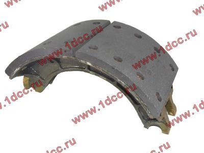 Колодка тормозная задняя с накладками H2/H3 HOWO (ХОВО) WG199000340061 фото 1 Иркутск