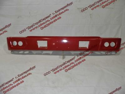 Бампер H красный самосвал металлический HOWO (ХОВО) WG1641240001 фото 1 Иркутск