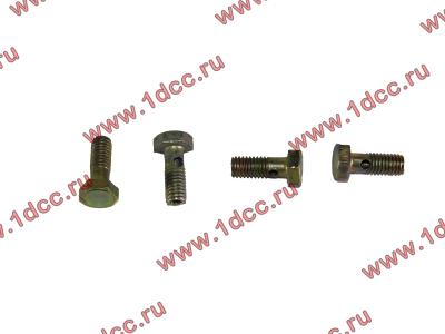 Болт пустотелый M6 обратки с форсунок H2 HOWO (ХОВО) VG1500080090 фото 1 Иркутск