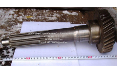 Вал первичный КПП ZF L-383мм, Z-34 H2/H3