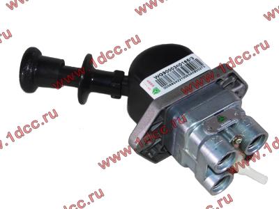 Кран стояночного тормоза в кабину H HOWO (ХОВО) WG9000360165 фото 1 Иркутск
