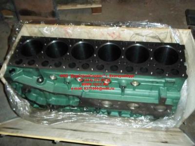 Блок цилиндров двигатель WD615.68 (336 л.с.) H2 HOWO (ХОВО) 61500010383 фото 1 Иркутск