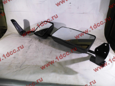 Зеркало заднего вида левое в сборе (на металл. стойке) H2/H3 HOWO (ХОВО) WG1842888010/2 L фото 1 Иркутск