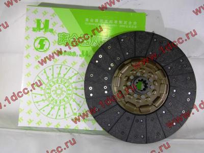 Диск сцепления ведомый 420 мм H2/H3 HOWO (ХОВО) WG1560161130 фото 1 Иркутск