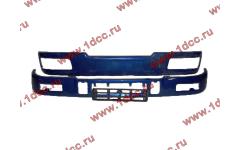 Бампер C синий верхний+нижний (в сборе) фото Иркутск