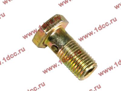 Болт пустотелый М12х1,25 (штуцер топливный) H HOWO (ХОВО) 90003962607 фото 1 Иркутск