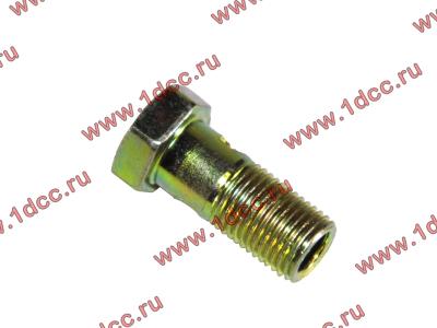 Болт пустотелый М10х1,0 (штуцер топливный) H HOWO (ХОВО) 81500070054 фото 1 Иркутск
