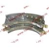 Колодка тормозная задняя с накладками H2/H3 HOWO (ХОВО) WG199000340061 фото 3 Иркутск