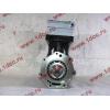 Компрессор пневмотормозов 2-х цилиндровый WABCO H3 HOWO (ХОВО) VG1099130010 фото 3 Иркутск