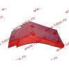 Брызговик передней оси правый H2 красный HOWO (ХОВО) WG1642230004 фото 3 Иркутск