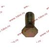 Болт пустотелый М12х1,25 (штуцер топливный) H HOWO (ХОВО) 90003962607 фото 3 Иркутск