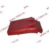 Брызговик передней оси правый H3 красный HOWO (ХОВО) WG1642230104 фото 4 Иркутск