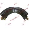 Колодка тормозная задняя с накладками H2/H3 HOWO (ХОВО) WG199000340061 фото 4 Иркутск