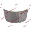 Колодка тормозная передняя с накладками (металл) H HOWO (ХОВО) WG199000440031 фото 4 Иркутск