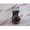 Компрессор пневмотормозов 2-х цилиндровый H2 HOWO (ХОВО) VG1560130080 фото 4 Иркутск