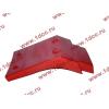 Брызговик передней оси правый H2 красный HOWO (ХОВО) WG1642230004 фото 4 Иркутск